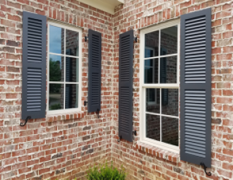 Fixed Louver Shutters